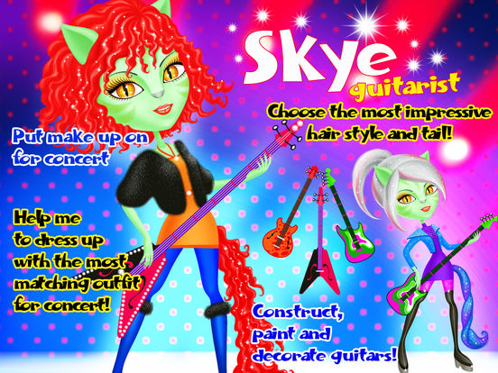 Crazy Cats Super Stars - Animal Pop Music Band Hair & Style Makeover screenshot 8