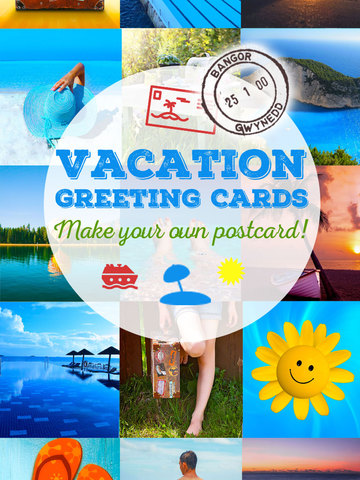 Vacation Greeting Cards - Summer Holiday Greetings, Wallpapers & Messages screenshot 5