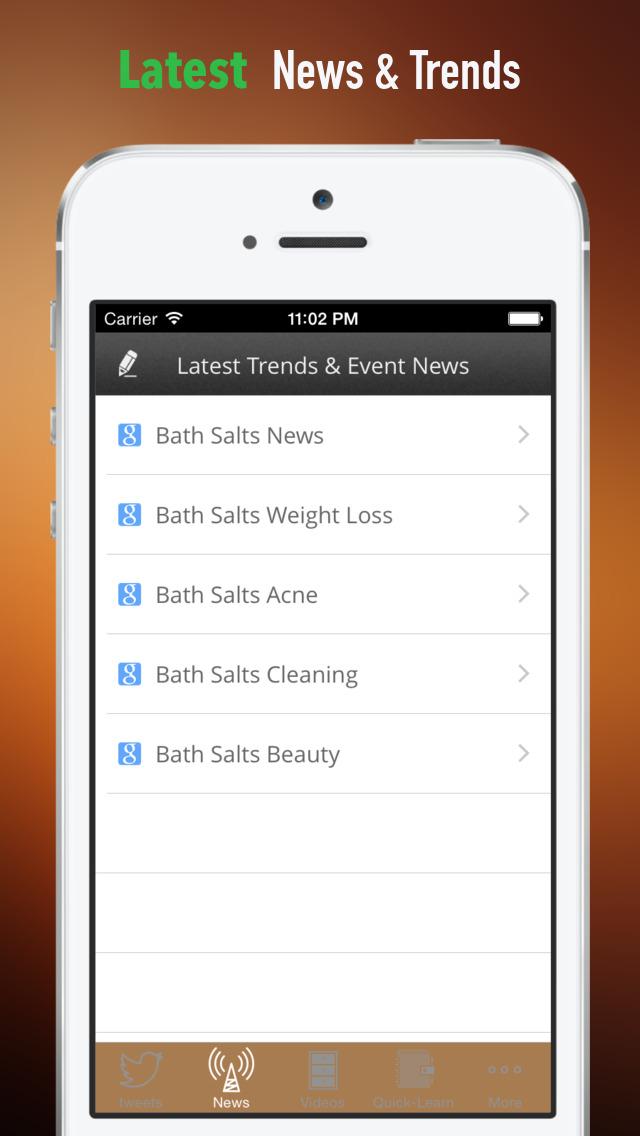 Bath Salts:Tips and Beauty screenshot 4