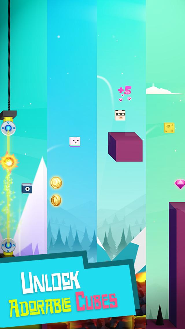 MicroCube - Amazing Jump (Amazing Cube World) screenshot 3