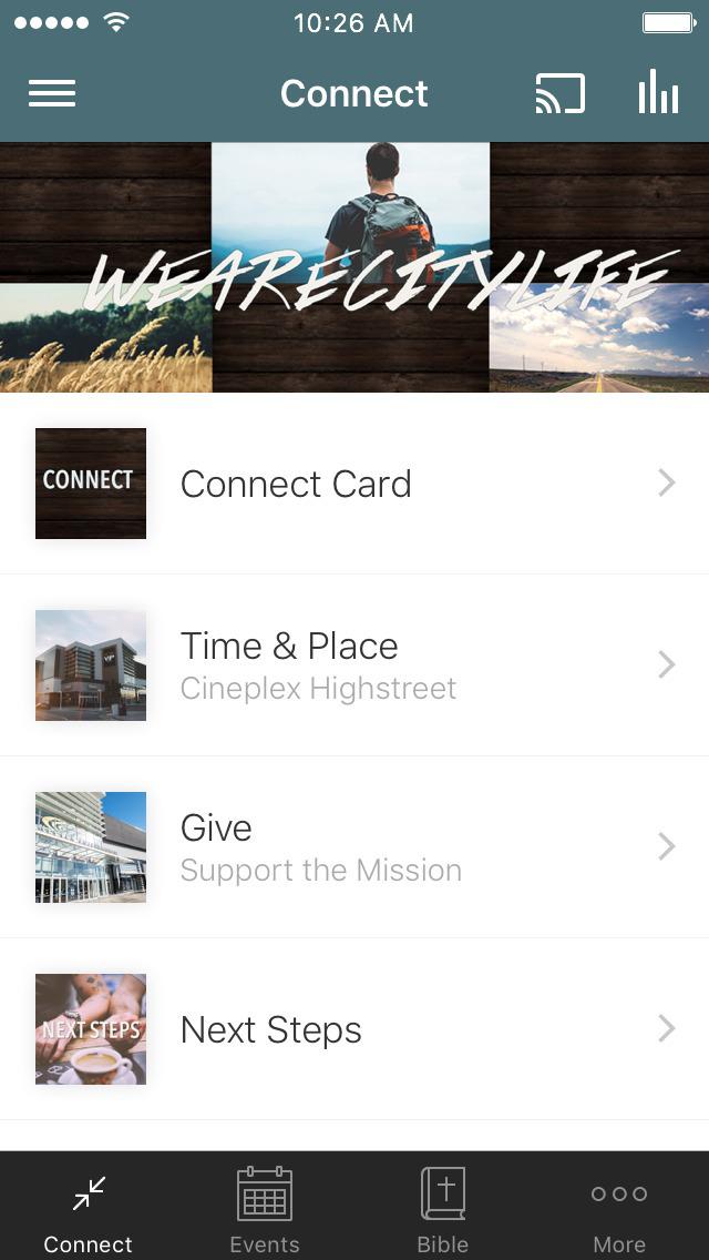 CityLife Church - Highstreet screenshot 1