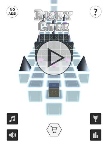 Risky Cube Road screenshot #1
