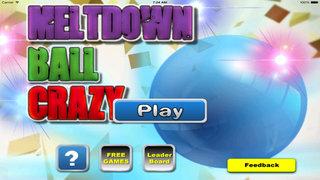 A Meltdown Ball Crazy - A Blue Jump Bouncing screenshot 1