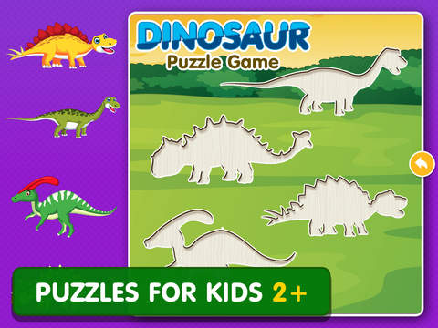 Dinosaur Games: Puzzle for Kids & Toddlers screenshot 5