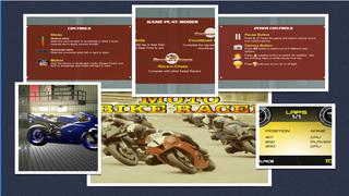 Moto Bike Racer : 3D Motorbikers Heated Chase Fun screenshot 5