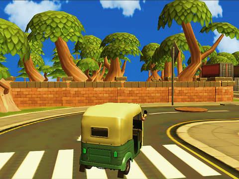 3 Wheel Drive Challenge : Tuk Rickshaw screenshot 5
