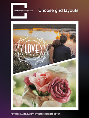 Pic Collage Playgrounds – picture collage, camera effects plus photo editor screenshot 6