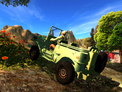 3D Noja Jeep Parking 2 - eXtreme Off Road 4x4 Driving & Racing Simulator screenshot 8