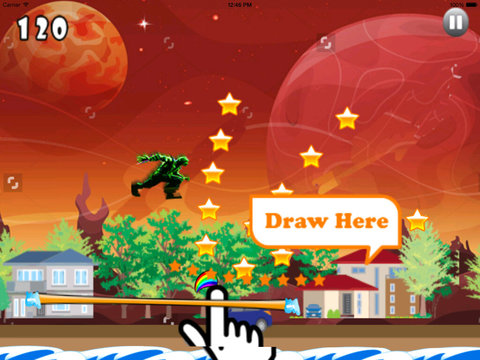 A Galactic Monster On Mars PRO - Game Big Jumps On Mars screenshot 9