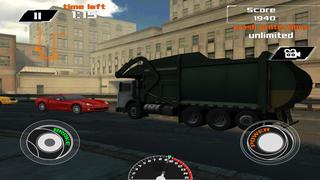 3D Garbage Truck Racing - eXtreme Truck Racer Game Free screenshot 1