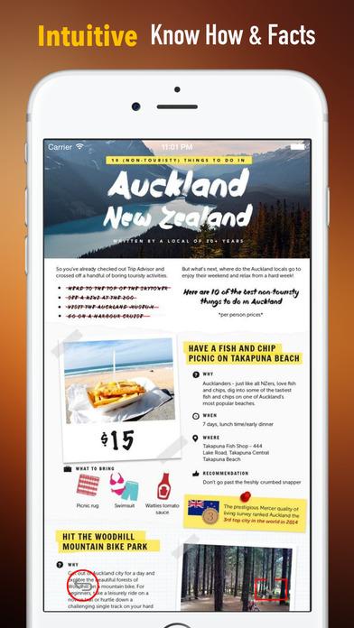 New Zealand Travel:Raiders,Guide and Diet screenshot 1