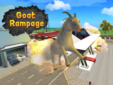 City Goat: Animal Survival Simulator 3D Full screenshot 6