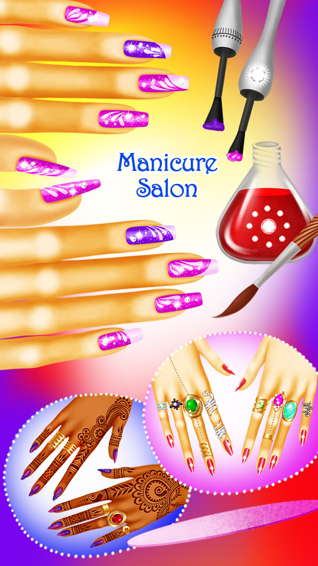Magic Princess Makeover - Fantasy Beauty, Hair & Nail Salon screenshot 4