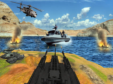 Modern World Warship Combat 3D screenshot 5