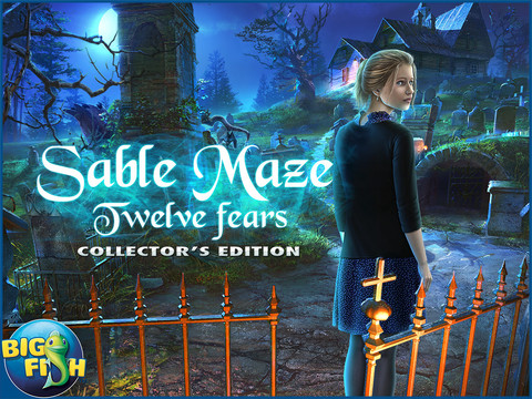Sable Maze: Twelve Fears HD - A Mystery Hidden Object Game (Full) screenshot 5