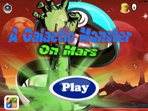 A Galactic Monster On Mars PRO - Game Big Jumps On Mars screenshot 6