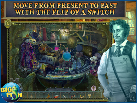 Secrets of the Dark: Mystery of the Ancestral Estate HD - A Mystery Hidden Object Game (Full) screenshot 2