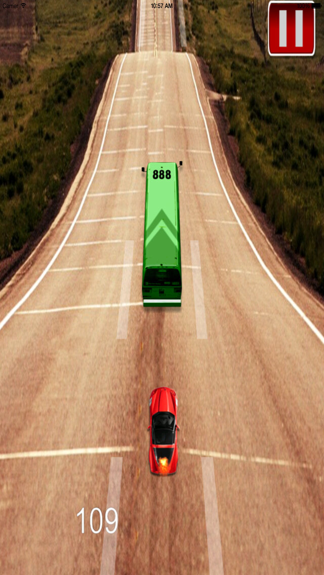 Carriage Dangerous Speed HD Pro - Racing Hoverer Game screenshot 5