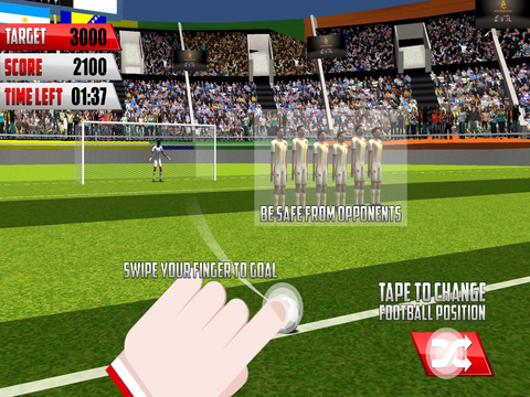 Final Soccer Flick : Free Penalty Kick screenshot 6