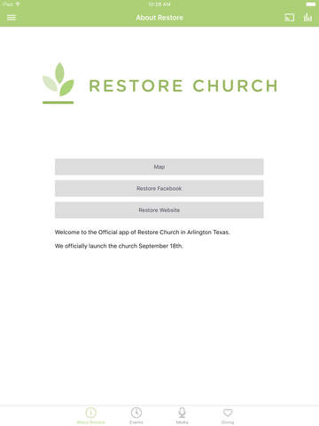 Restore App screenshot 4