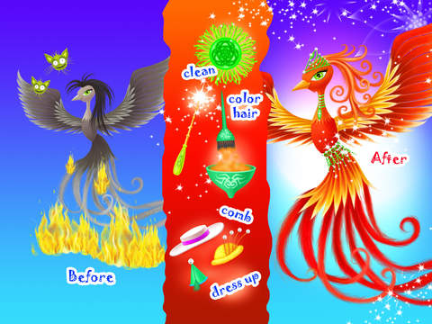 Fairyland Beauty Salon - Dragon, Unicorn, Mermaid & Fairy Stylist screenshot 8