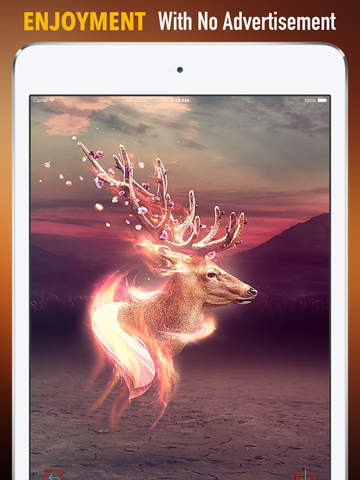 Deer Wallpapers HD: Quotes Backgrounds with Art Pictures screenshot 7
