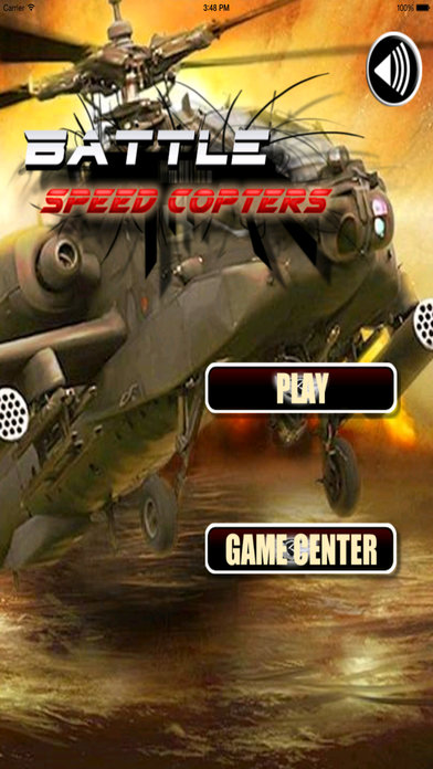 Battle Speed Copters -­ Best Helicopter Game screenshot 1