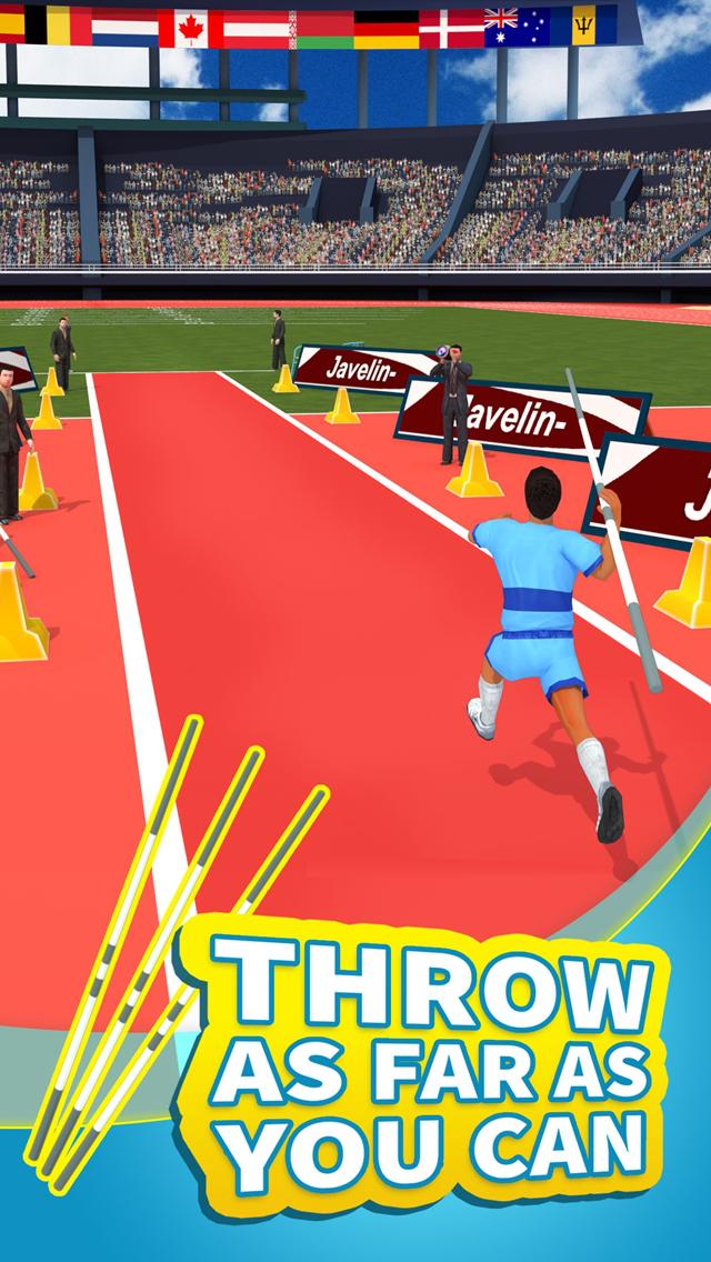 Summer Sports: Javelin screenshot 1