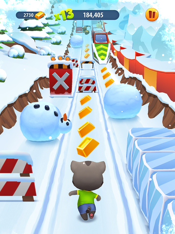Talking Tom Gold Run screenshot 8