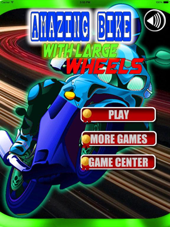 Amazing Bike With Large Wheels PRO - Extreme Game screenshot 6