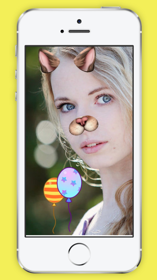 Snap Face for Snapchat Free - Emoji, Funny Face, Dog Faces Filter