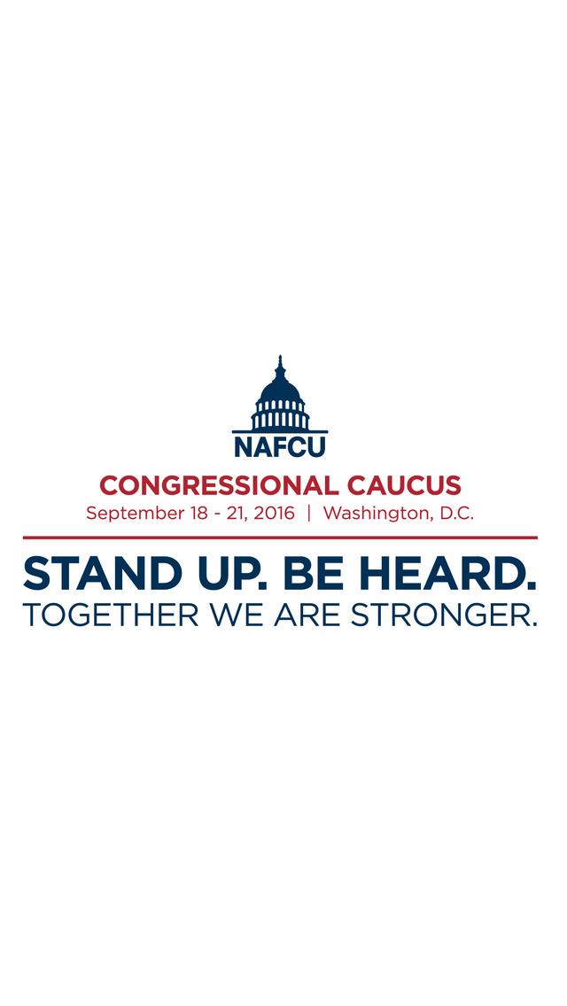 NAFCU Congressional Caucus screenshot 2