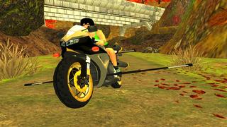 Flying Motorcycle Racing Simulator screenshot 2