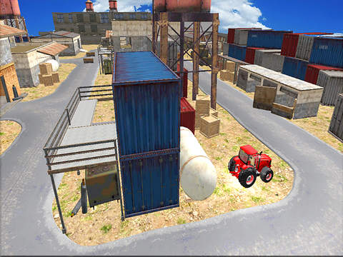 Farm Tractor Simulator : 3D Parking Driving Game screenshot 4