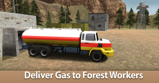 Oil Truck Simulator 3D - Offroad tank truck driving screenshot 3