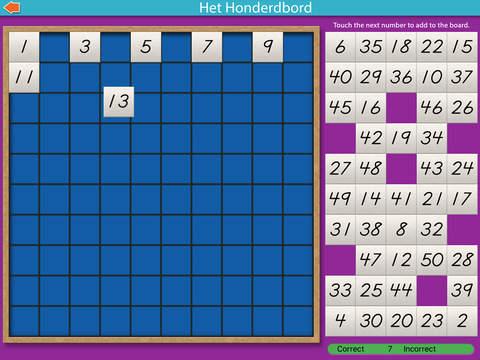 Montessori rekenmaterialen – Het honderdbord Lite screenshot 10