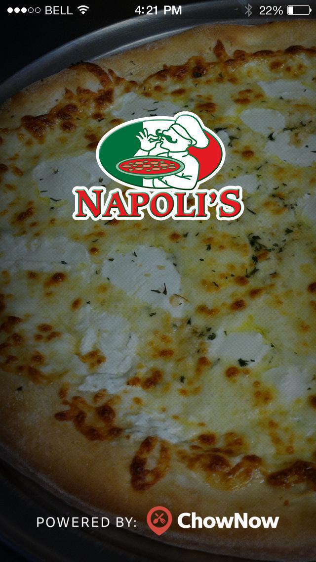 Napoli Pizza Orlando screenshot 1