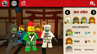THE LEGO® NINJAGO® MOVIE™ app screenshot 3