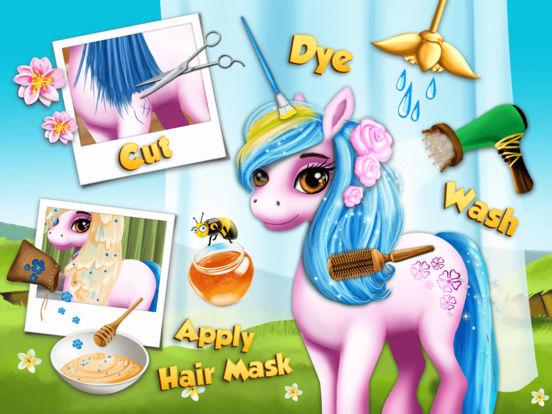 Pony Girls Horse Care Resort - No Ads screenshot 8