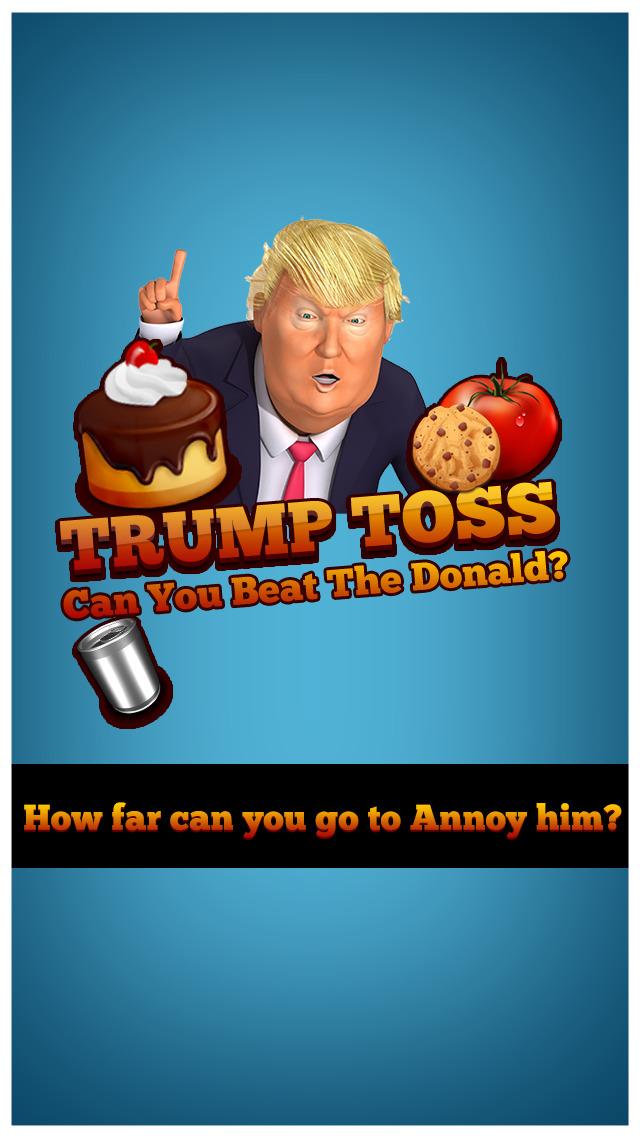 Trump Toss - Can You Beat The Donald? screenshot 1