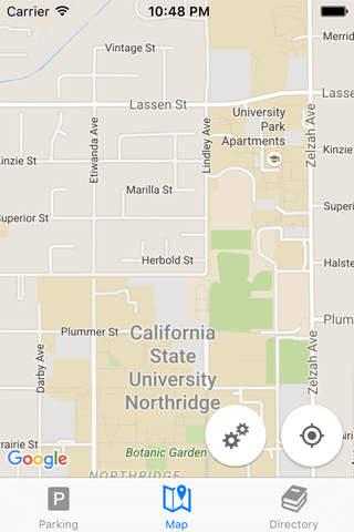 CSUN Maps - náhled