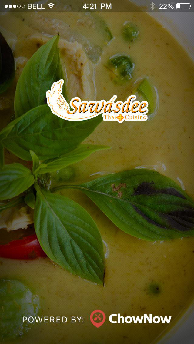 Sawasdee Thai Cuisine screenshot 1