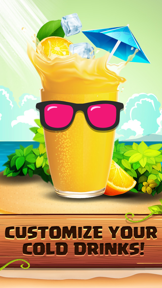 Crazy Drink Maker - Sweet Ice & Fizzy Juice Salon screenshot 3