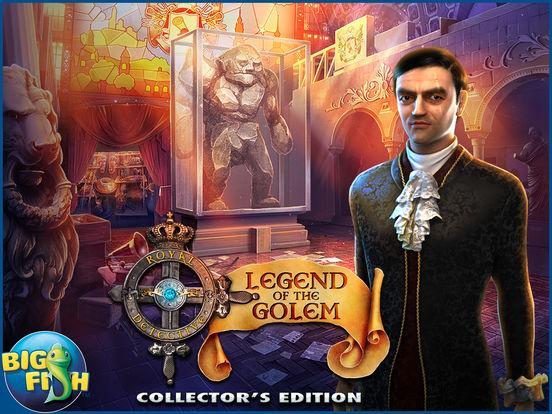 Royal Detective: Legend of The Golem - A Hidden Object Adventure screenshot 10
