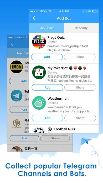 Telepal for Telegram Messenger - Channels & Bots | Apps