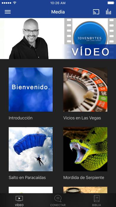 JovenBytes: Devocional App screenshot 1