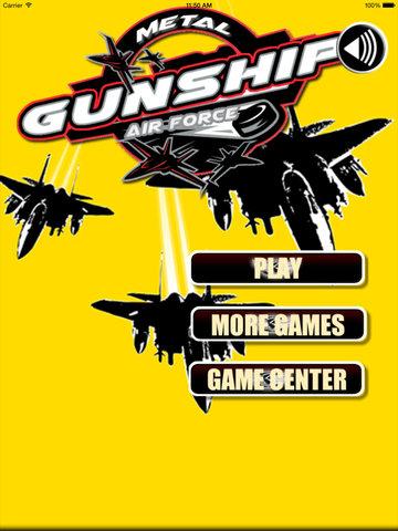 Metal Gunship Air Force Pro - Mysticism Attack Battle Fighters screenshot 6