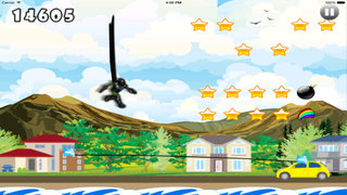 A Mega Jump Dash - Amazing Ninja Jumps screenshot 2