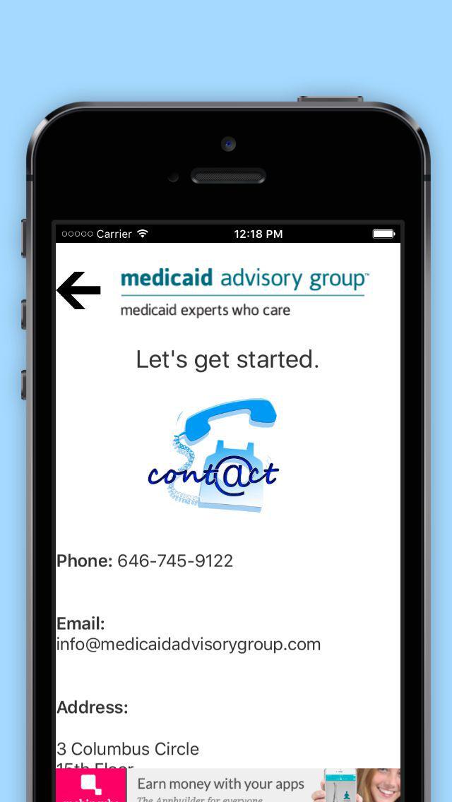 The Medicaid App screenshot 1