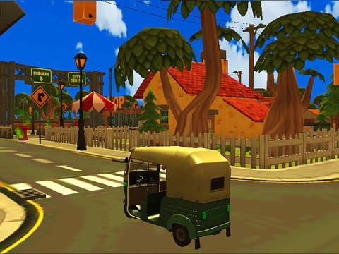 3 Wheel Drive Challenge : Tuk Rickshaw screenshot 4